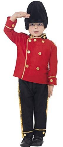 Fancy Me Jungen Pelzmütze Tschako Wache königsblau Britisch London Soldat Militär Uniform Kostüm Kleid Outfit 4-12 Jahre - Rot, 4-6 Years
