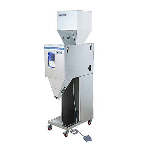 Pulver Abfüllmaschine Pulverfüllmaschine Powder Filling Machine Puderteilchen Subpackage Wiegen Filler 10-999g 200W