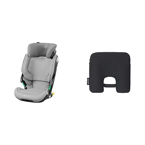 Bébé Confort Rodi AirProtect Silla de auto, color authentic grey + Maxi-Cosi e-Safety Dispositivo antiabandono para silla de coche