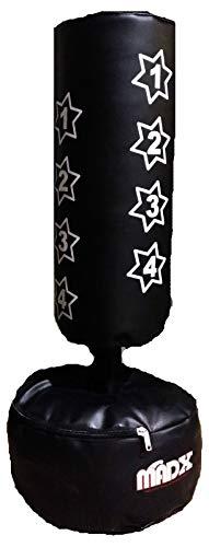 MADX Boxsack für Kinder (Handschuhe inklusive), Schwarz