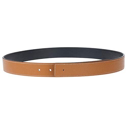 Genuine Leather Belt Strap Reversible Belt Fits H...