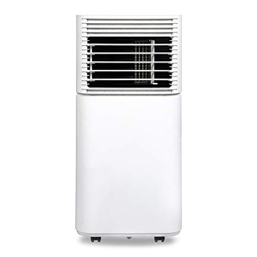 Hengda 4 in1 WiFi Mobiles Klimagerät mit Fensterdichtung,7000 BTU/h(2.0kW),Automatischer Heizung,Kühlen,Luftentfeuchter,Ventilator für Räume bis 25㎡