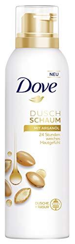 Dove Duschschaum für empfindliche Haut Arganöl mit milden Waschsubstanzen, 6er Pack (6 x 200 ml)