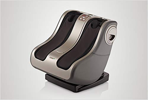 OSIM uPhoria Warm 5-in-1 Deep-Tissue Shiatsu Foot and Calf Massager with Heat Therapy | Electric Power Kneading and Reflexology | Strongest Foot Massager | Improve Blood Circulation and Stress Relief