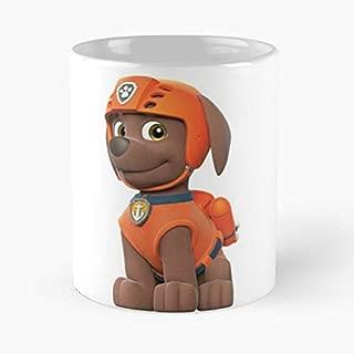 Zuma Paw Patrol Classic Mug - The Funny Coffee Mugs For Halloween, Holiday, Christmas Party Decoration 11 Ounce White Jamestrond.