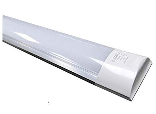 Lámpara luminaria LED 150 cm 48w. Color Blanco Neutro (4500K). T8 integrado. 4800 lumenes. Regleta led slim. A++