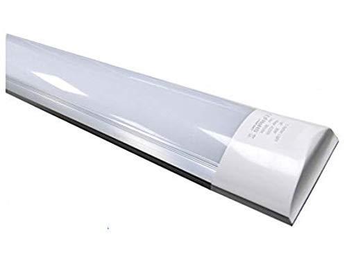 Pack 5x Luminaria Lámpara de Techo 120cm. 40w. Color Blanco Frío (6500K). 3300 Lumenes. A prueba de polvo. A++