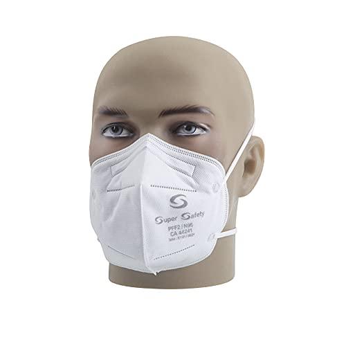 Respirador Pff2 Branco Mascara N95 Inmetro Com 100 Unidades