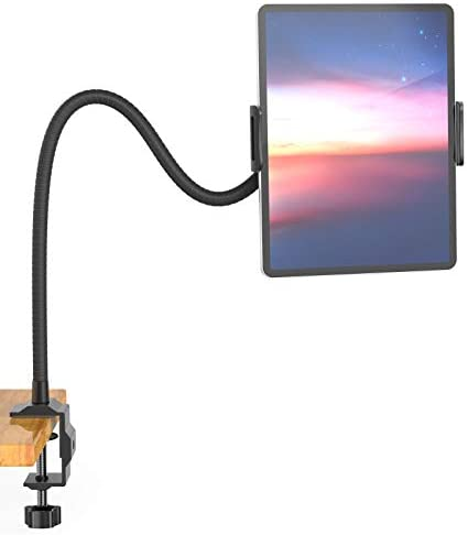 Aluminium Gooseneck Tablet Stand Cell Phone Holder Universal 360 Flexible Tablet Mount Lazy product image