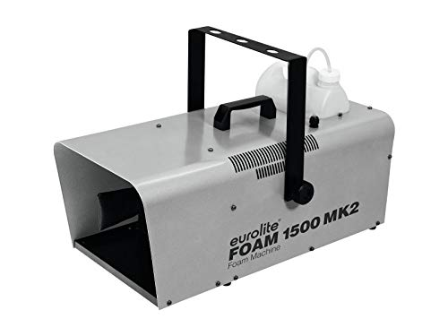 EUROLITE Foam 1500 MK2 Schaummaschine mit 5-Liter-Tank und Fernbedienung