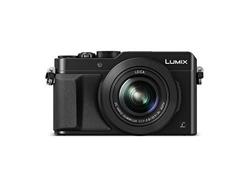 "Panasonic Lumix DMC-LX100 - Cámara Compacta Premium de 12.8 MP (Sensor de 4/3"", Objetivo F1.7-F2.8 de 24-75 mm, Zoom de 3X, 4K, WiFi, Raw), Color Negro"