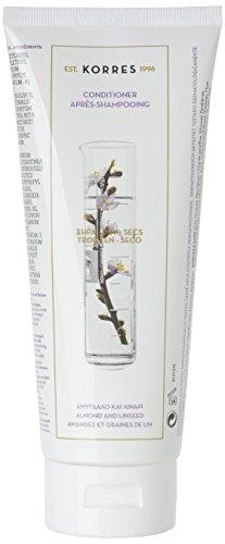 Korres Almond und Linseed Pflegespülung für trockenes, strapaziertes Haar, 1er Pack (1 x 200 ml)