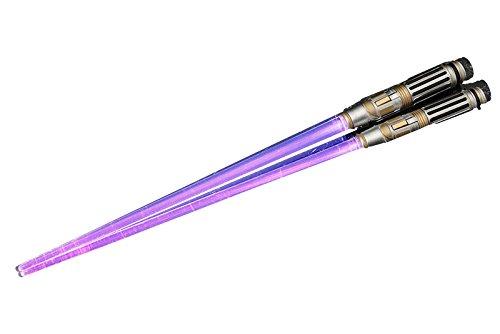 And the STAR WARS lightsaber chopstick Mace Windu light up ver.... (Renewal version) anime