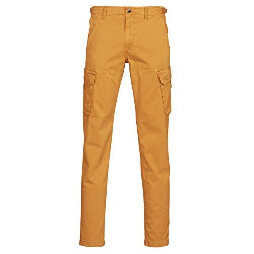 TIMBERLAND Squam Lake Straight Twill Cargo Broeken/Pantalons hommes Beige - DE 46 (US 36/32) - Cargobroek