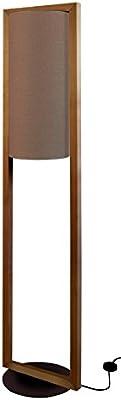 Tosel 51277 Lampadaire 1 Lumière, Bois, E27, 40 W, Marron, 35 x 165 cm