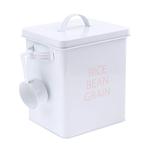 Find Bargain Serenable Food Storage Container, Dog Food Storage Container, Food Storage Dispenser wi...