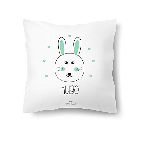 Alhoji Sweet Cojín Infantil Personalizado Nombre Animales Baby Regalo Personalizado