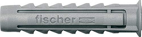 Fischer 70005 Taco Nylon Expansión SX 5 x 25, Gris, 0 W, 0 V, 5x25