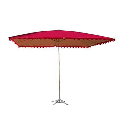 AWJ Sombrilla de jardín, sombrilla, sombrilla Plegable, protección Impermeable y Ultravioleta, Adecuada para Exteriores, jardín y terraza