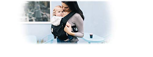 Ergobaby Ergonomic Multi-Position Original Baby Carrier (7-45 Pounds), Black/White