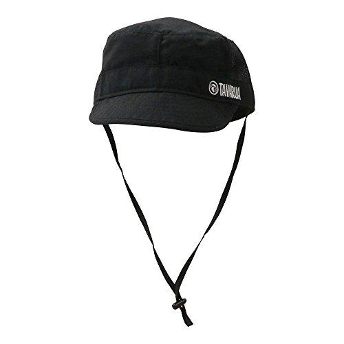 【TAVARUA/タバルア】スタンダードポケッタブルサーフキャップメッシュ バリュー メンズ TM1008 サーフハット ハット 水陸両用帽子 男性用 マリンハット 正規品 59cm BLACK(889450)