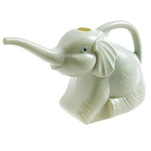 HFeng Gießkanne aus Kunststoff, kreativ, lange Nase Elefant Gießkanne Gartenwerkzeug Handheld Blumentopf Bewässerungsgerät geeignet für Outdoor Rasen Garten Bewässerungskanne