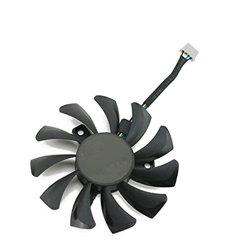 Jinyouqin GA81S2U 75mm GTX970 Fanful Remplacement du Ventilateur de zotac pour GeForce GTX 970 Graphics Card Fan de Refroidissement par Carte Graphique (Blade Color : 1PCS)