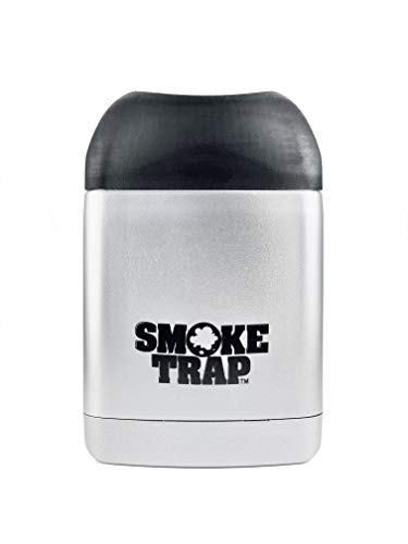 Smoke Trap 2.0 - Personal Air Filter (Sploof) - Smoke Filter With Replaceable Filter - 300+ Uses (Silver)