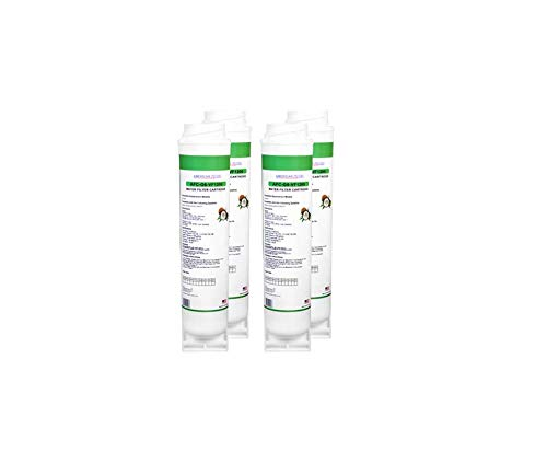 4-Pack GE FQSVF Compatible Water Filter