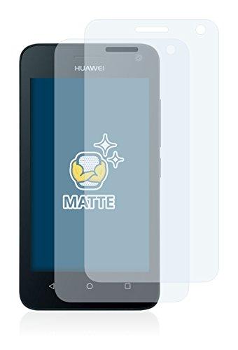 brotect 2X Entspiegelungs-Schutzfolie kompatibel mit Huawei Y360 Displayschutz-Folie Matt, Anti-Reflex, Anti-Fingerprint - 2