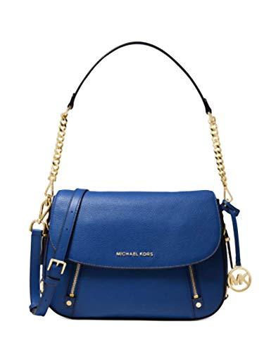 MICHAEL Michael Kors Bedford Legacy Medium Flap Shoulder Bag Vintage Blue