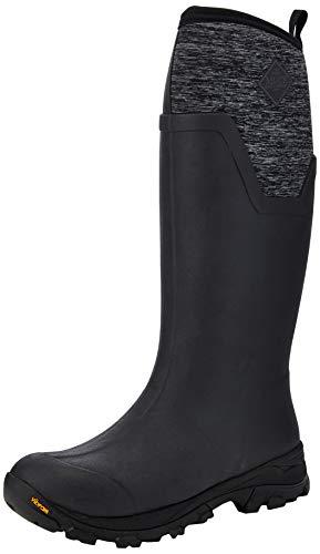 Muck Boots Arctic Ice Tall, Stivali in Gomma Donna, Nero mélange, 43.5 EU