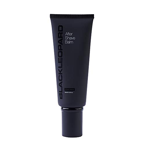 Black Leopard After Shave Balm for Men - Soothing After Shave with Anti Aging Properties - After Shave Lotion Restores Skin and Reduces Redness, 3.4 fl. oz.