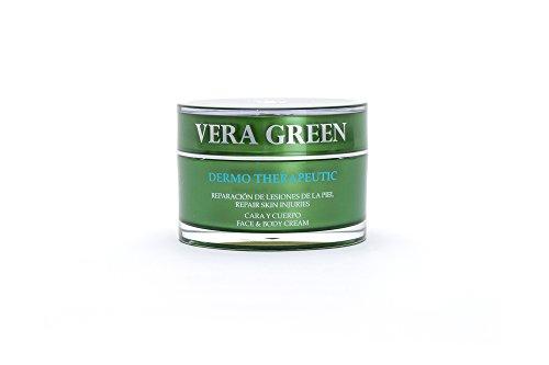 Vera Green Crema Terapéutica de Aloe Vera 100% Tratamiento