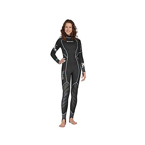 Mares Donna Coral Dives Wetsuit-Black/Nero, Misura S1, Donna, Coral Dives, Black/Black
