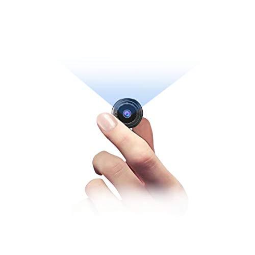 小型カメラ 防犯カメラ-ZZCP 1080P 長時間録画機能付き HD超小型カメラ 音声録音 動体検知 電池式隠しカメラ 丸型 監視カメラ 暗視機能 配線不要 屋外/室内 ミラー付き 磁石内蔵