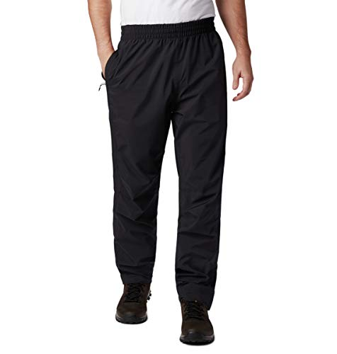 Columbia Herren Evolution Valley Regenhose, Schwarz, L/S