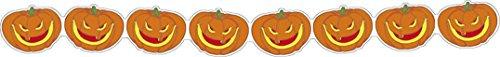 les colis noirs lcn Guirlande citrouilles moqueuses 3 m Halloween - Taille - Taille Unique - 230224