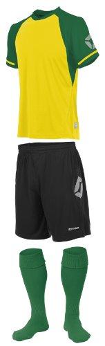 Stanno Trikot » LIGA «, gelb/grün Short Sleeve Fußball, Shirts, Shorts, Socken
