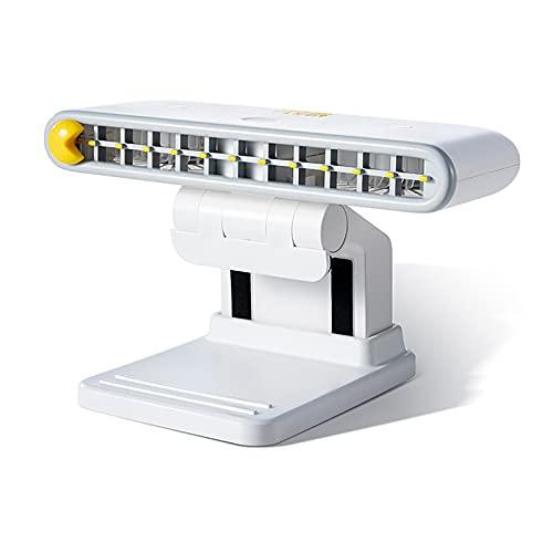 Hache Aire Acondicionado Portátil Enfriador Mini USB Aire Acondicionado Soporte para Teléfono Ventilador De Escritorio Personal 120 Ángulo Ajustable Ligero,Blanco