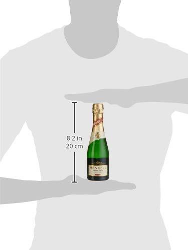 Henkell Feiner Sekt, Trocken, 11,50% Alkohol (12 x 0,2l Flaschen) – Chardonnay-Cuvée in handlicher Piccoloflasche - 7
