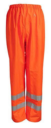 Elka 022403R030006 Dry Zone - Pantalones de Trabajo, Color Naranja Fluorescente, XL