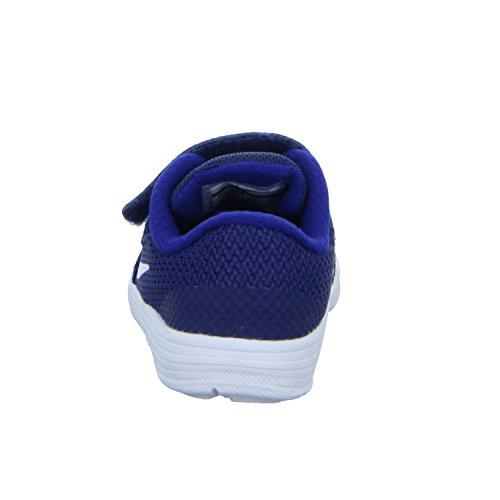 NIKE Kids' Revolution 3 (TDV) Running Shoe, Binary Blue/White/Deep Royal Blue, 2 M US Infant