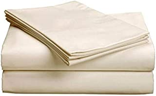 Gotcha Covered PURE Collection SPLIT HEAD KING Size 100 Percent Organic Egyptian Cotton Sateen 300 Thread Count Bed Sheet ...