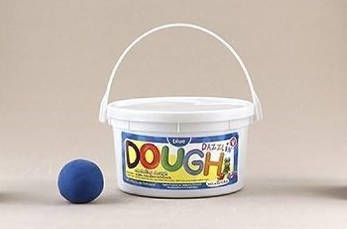 Hygloss 3 Pound Tub Dazzlin Dough - Blau by Hygloss