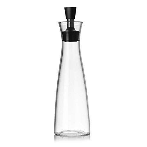 cruet Vidrio de aparatos de cocina salida de la botella dispensador de aceite vinagre botella taza de salsa de contenedor de aceite de oliva 500ml