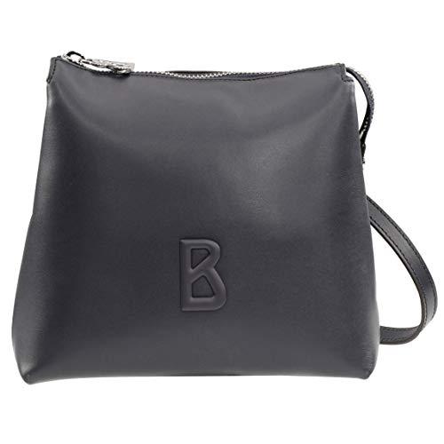 Bogner Laax Tilda Schultertasche Damen Tasche aus Leder, mvz, 10x19x21 cm