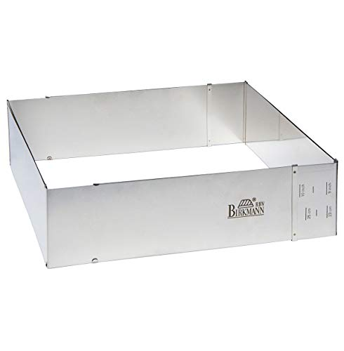 RBV Birkmann, 429307, Easy Baking, Backrahmen, größenverstellbar bis 43 cm x 48 cm