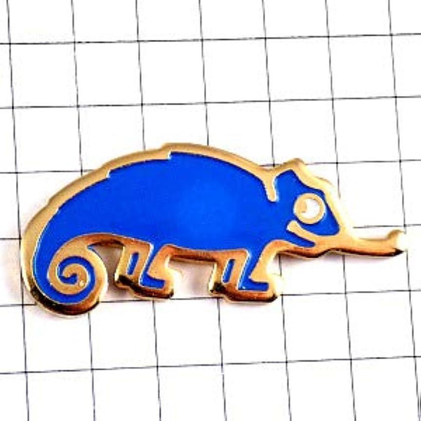 つぼみ顕現ポンプ限定 レア ピンバッジ カメレオン車ルノー青色 ピンズ フランス 289381