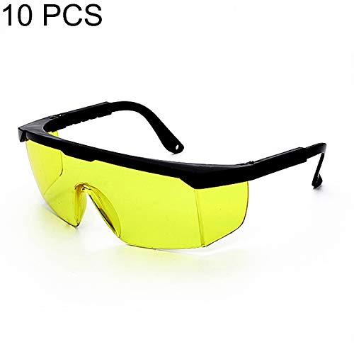 Rongjuyi 10 stuks laser-veiligheidsbril, modieus design, conventioneel design, veiligheidsbril